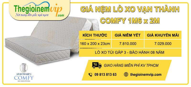gia-nem-lo-xo-tui-gap-3-van-thanh-comfy-1m6-x-2m