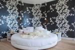 Giường, nệm hình tròn tối ưu cho Phong Thuỷ và mang đến sự khác biệt