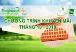 Khuyến mãi nệm Đồng Phú - DORUFOAM tháng 10/2018 tại Thế Giới Nệm Vip