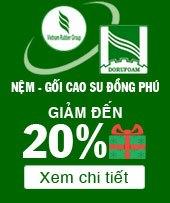 Xem tất cả sản phẩm nệm Đồng Phú đang khuyến mãi tại Thế Giới Nệm Vip